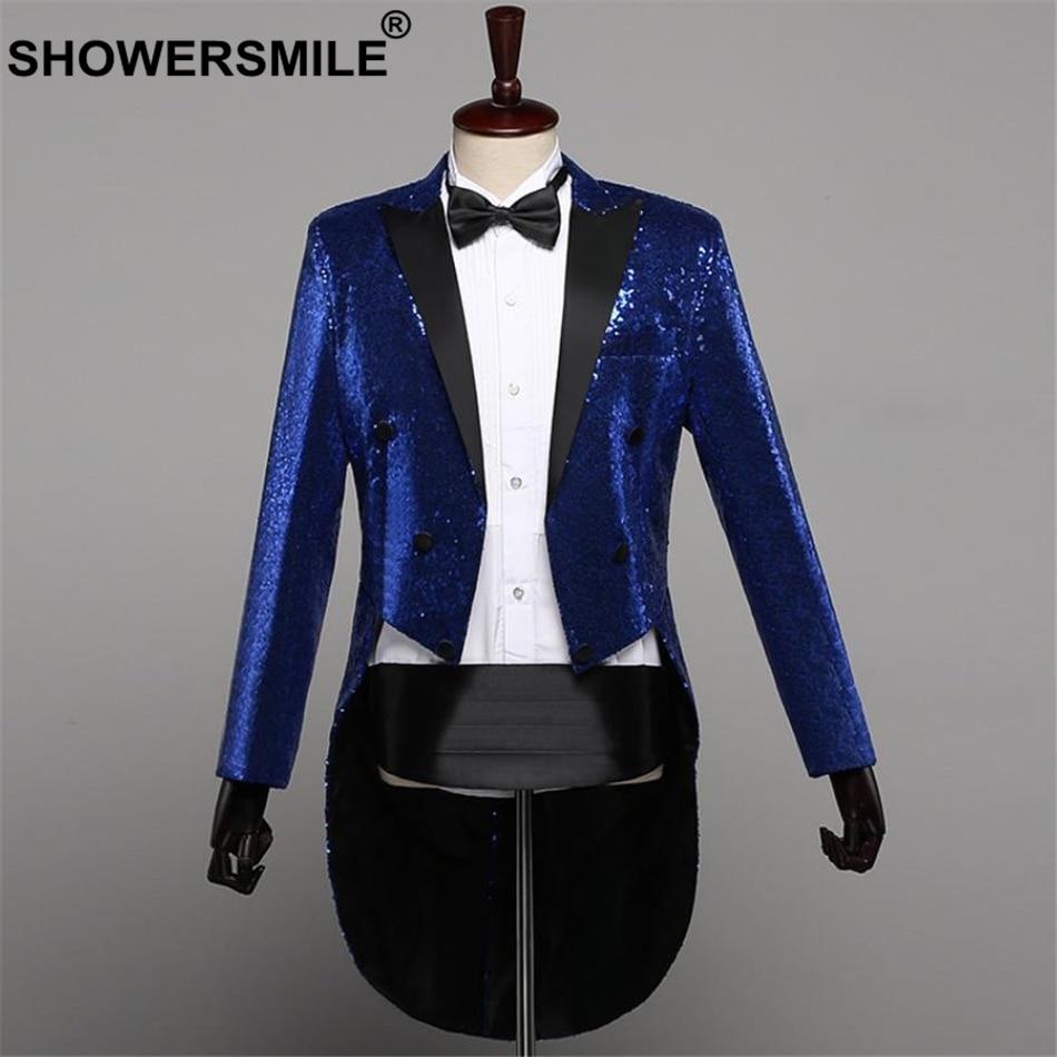 16b23a0821f0e SHOWERSMILE Colorful Blazer Men Dj Club Stage Singer Clothes Men Party  Striped Suit Jacket Fashion Singer Costume Plus Size 5XLUSD 46.11 piece