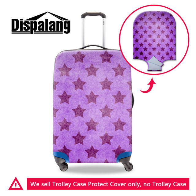 Dispalang Fashion Stars Print Luggage Protectors Beautician For Suitcase Luggage Protective Covers Womens Travelling Accessories