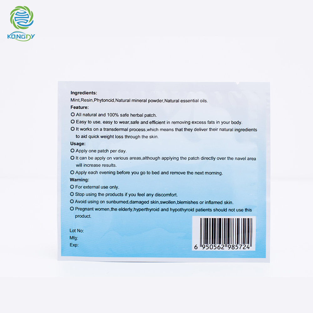50 Patches/Lot Slimming Navel Stick Fast Weight Lose Products Slim Patch Burning Fat Patches Hot Body Shaping Slimming Stickers 2