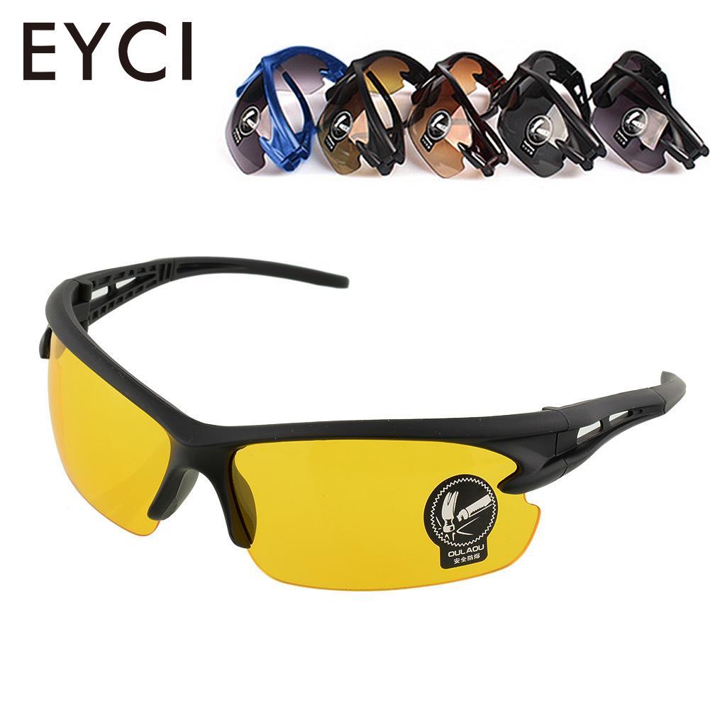 EYCI Sports Bicycle Road Bike MTB Men Women Cycling Sunglasses Eyewear Safety Goggle
