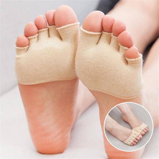 1 Pair Foot Caring Super Elastic Bunion Sleeve Protector Prevent toe Valgus Injury Non-skid Toe Corrector Health Care 1