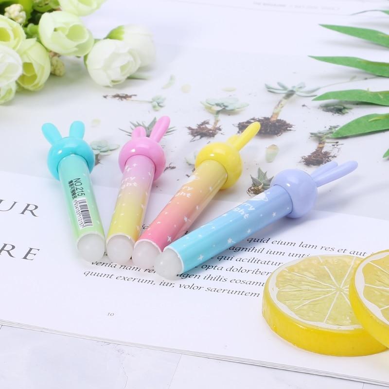 1 шт. каваи кролик ластик для стираемой ручки милые школьные офисные канцелярские принадлежности подарок ластик набор горячий милый