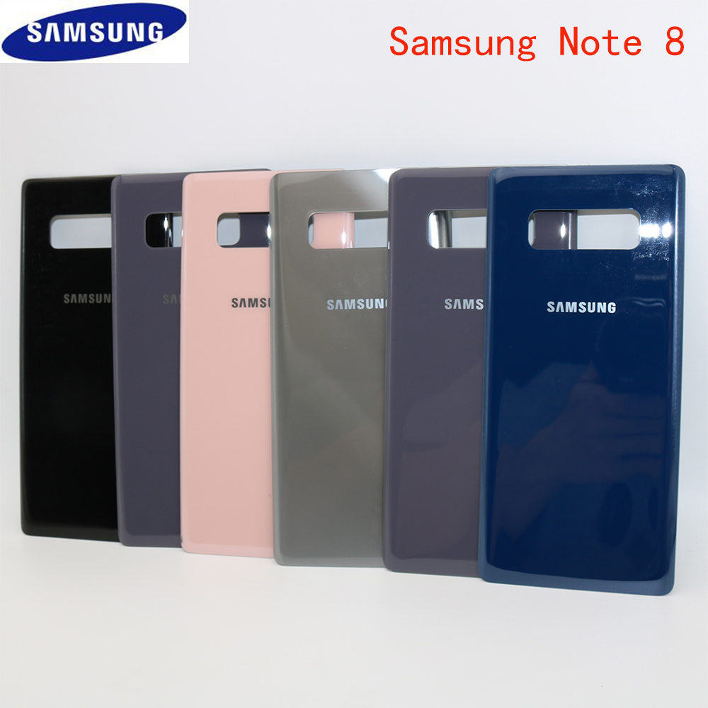 Galaxy Note Original Battery Back 8 Samsung Glass For N950 Cover