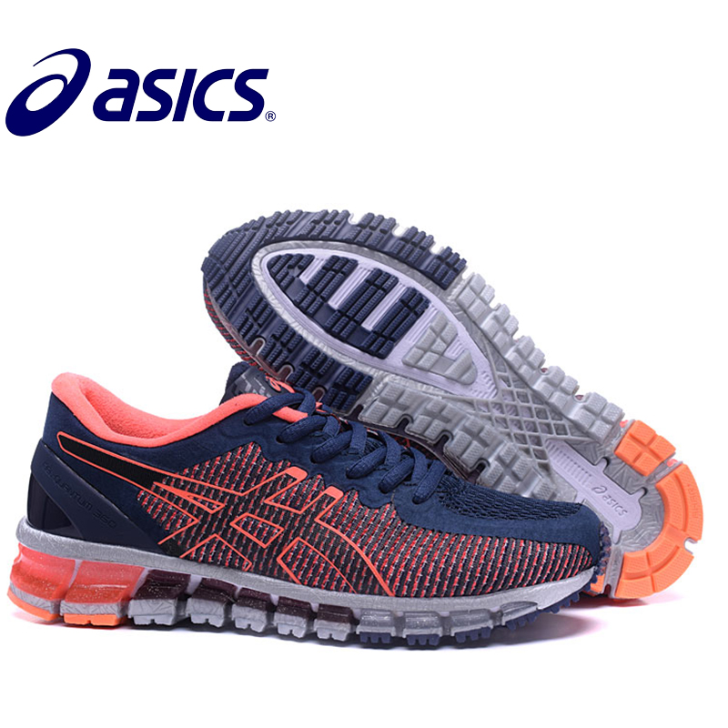 2018 Original Asics Gel-Quantum 360 Womans Shoes Breathable Stable Running Shoes Outdoor Tennis Shoes Hongniu2018 Original Asics Gel-Quantum 360 Womans Shoes Breathable Stable Running Shoes Outdoor Tennis Shoes Hongniu