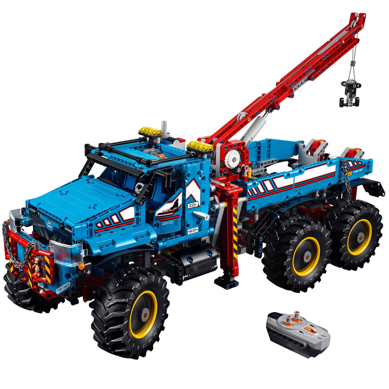 LEPIN 20056 1912pcs Technic Series The Ultimate Terrain 6X6 Remote Control Truc Model Building Block Toy For children Gift 42070