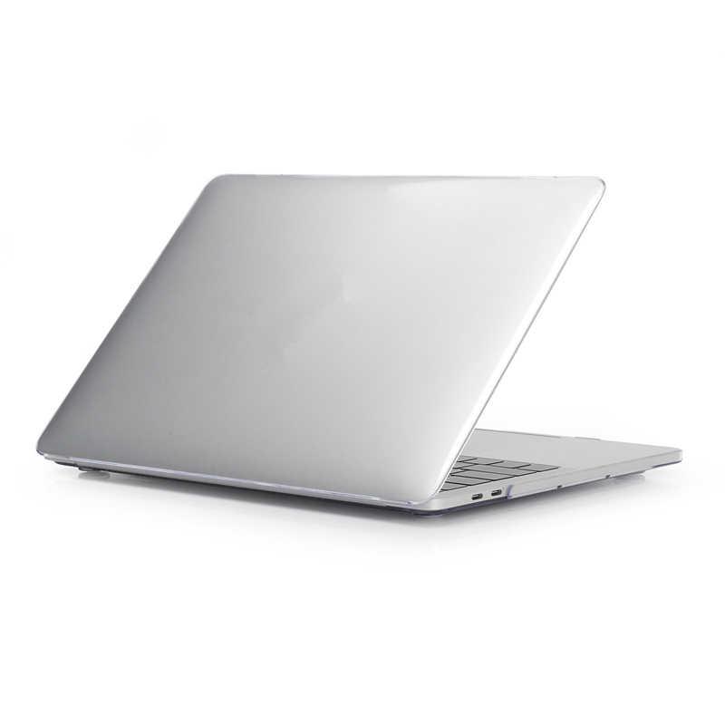 Matowy czarny Laptop etui na macbooka Air Pro Retina 11 12 13 15 etui pełny zestaw sztywne etui na nowy Macbook Air 13 2018 Funda Coque