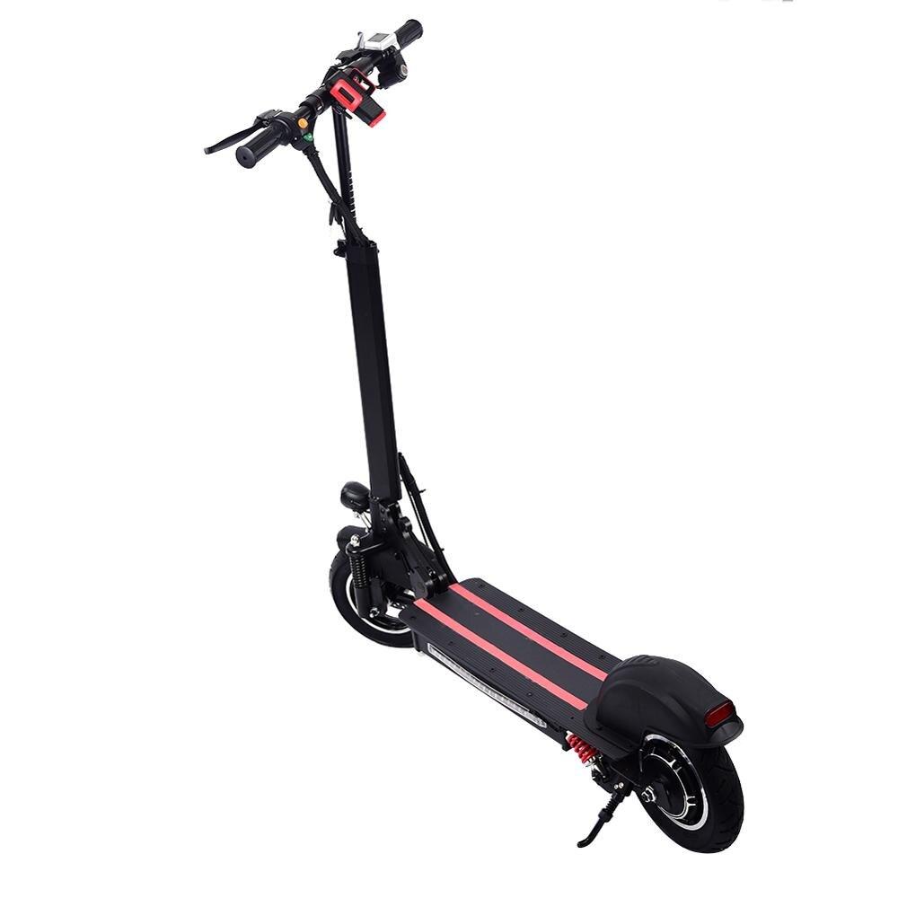 Scooter elétrico Com Luz LED, 800 W Única Roda Traseira Drive, 10 Polegada 50 48 kmh 200 kg Bateria V/15AH, Skate Patinete Adulto