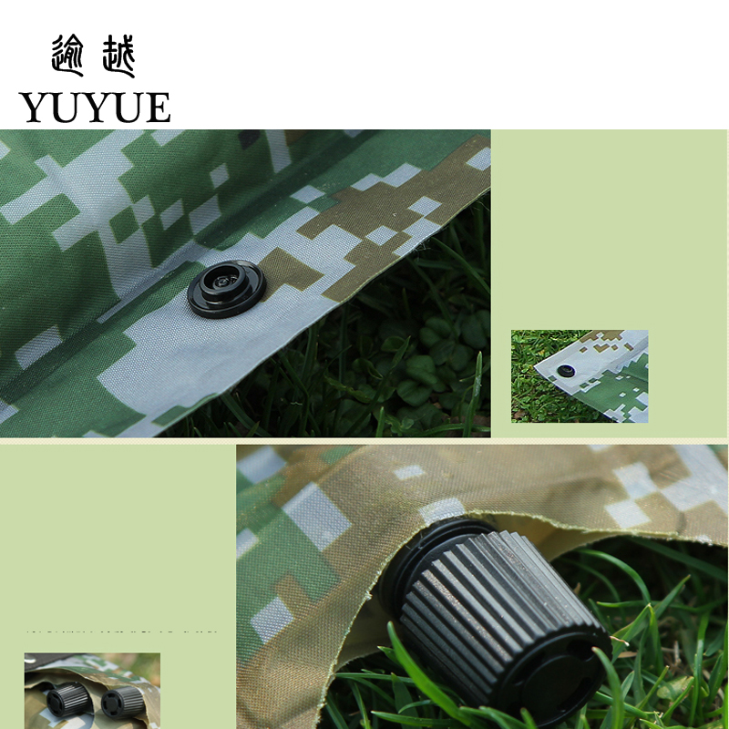 Waterproof The Inflatable Mattress For Outdoor Camping Cheap Mattress Stores For Sleep Inflatable Bed Camouflage Air Mattress  3