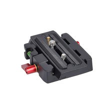 New Commlite Fast Launch Plate for Tripod Head DSLR Video Digicam