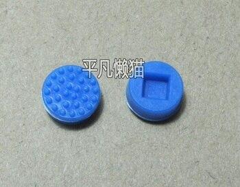 SSEA nueva Laptop Notebook Trackpoint puntero ratón palos en punta azul Cap para DELL laptop teclado azul 50 Uds