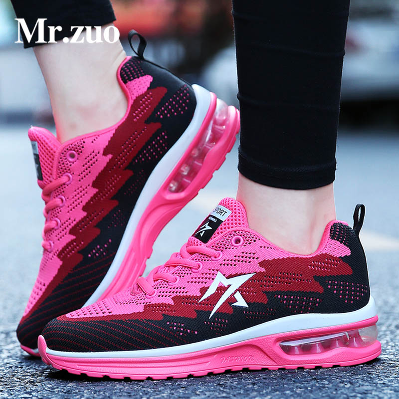 women sneakers 2017  sport  running shoes for women  Trainers lace-up female sneakers breathable Women's shoes air shoes women