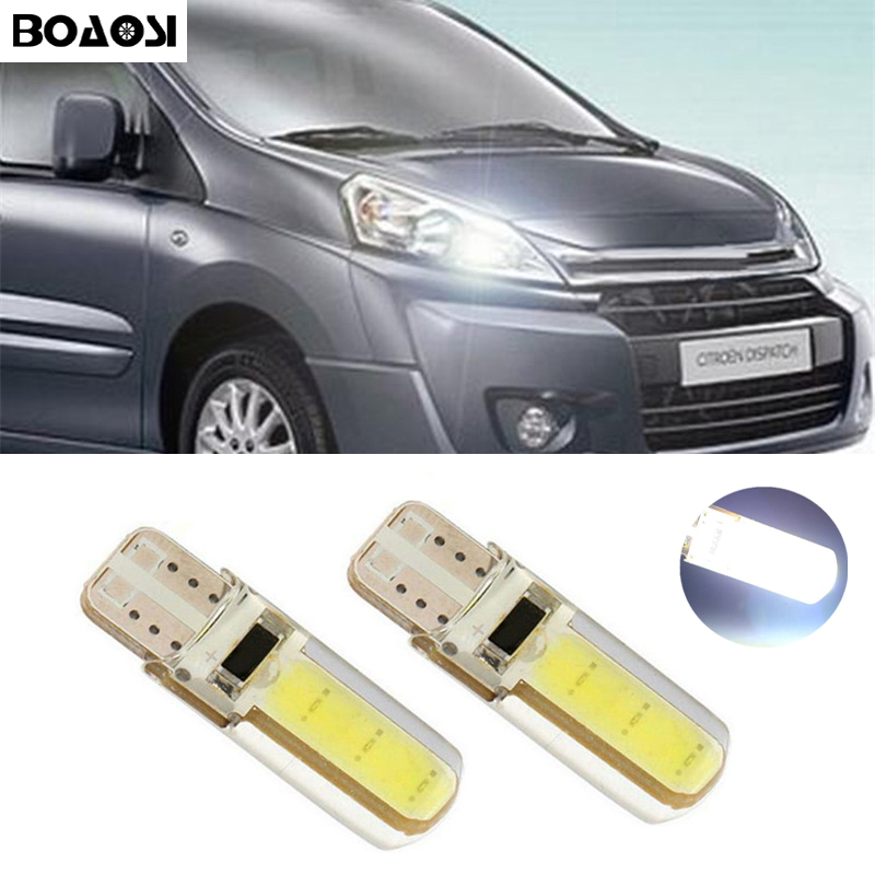 BOAOSI 2x Canbus LED T10 W5W Clearance Parking Light Wedge Light For Citroen C4 C5 C3 Grand Picasso Berlingo Xsara Saxo C1 C2 ds atreus winter heaters windshield defroster fan for buick citroen c4 c5 c3 xsara picasso berlingo alfa romeo 159 giulia 147 156