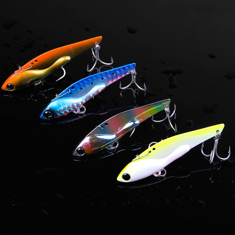 Free shipping Trulinoya VIB fishing lures 18g/23g metal jig lure hard fishing bait fly fishing wobbler carp fishing tackle fishing lure kit metal lure soft bait plastic lure wobbler frog lure free shipping