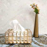Salon boîte de rangement de tissu maison Restaurant voiture porte-serviettes en papier hôtel Bumf conteneur