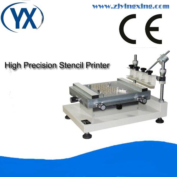 Machine d'impression en soie de Machine d'imprimante de pochoir manuel d'imprimante de haute précision de YX3040