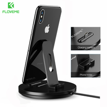 ФОТО floveme phone charger for samsung s9 s9 plus charging dock for xiaomi redmi 4x huawei stand holder for android type-c charger