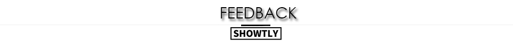 Showtly feedback