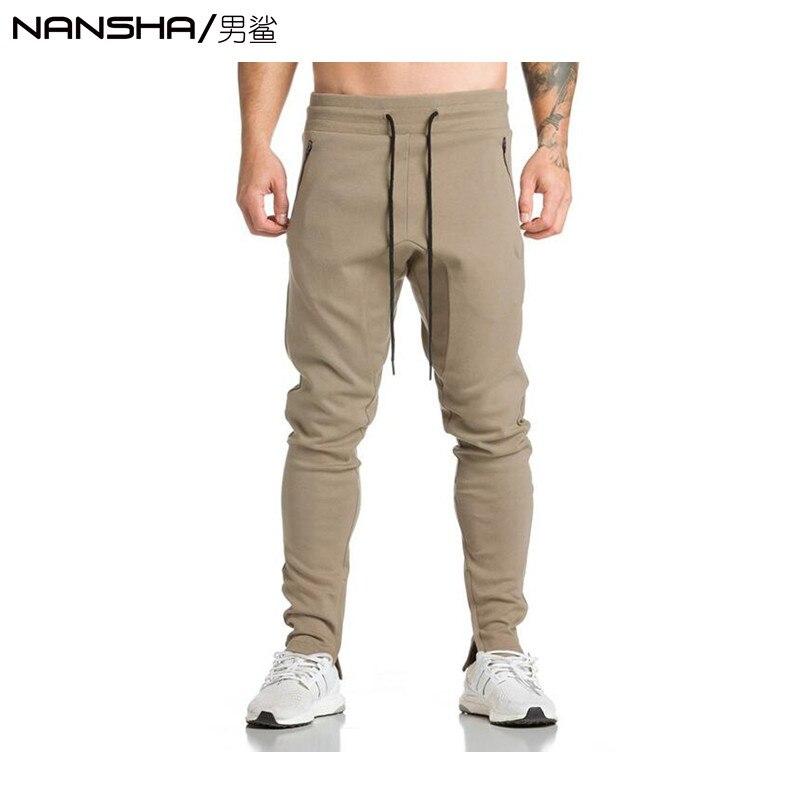 Pure Cotton 2017 Mens Boutique Autumn Pencil Harem Pants Men Military Jogger Gyms Pants Comfortable Trousers Camo Joggers