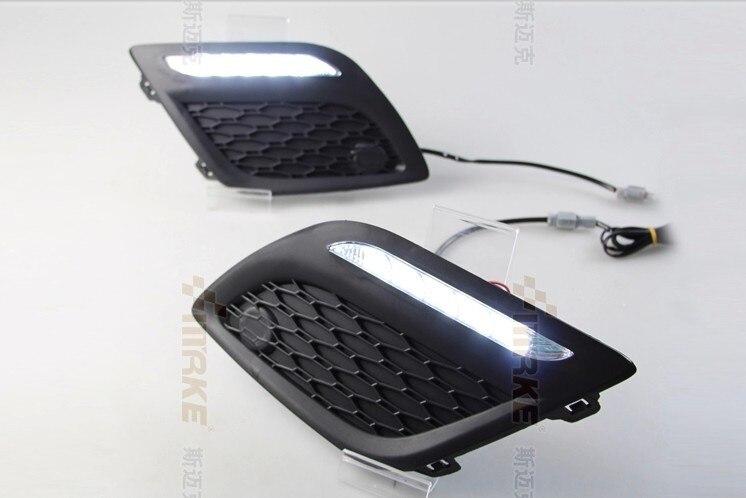 СМК Сид DRL дневного света для Volvo хс60 противотуманные фары с функцией переключения прочный точной установки