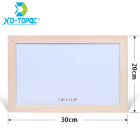 Free Shipping Magnetic Whiteboard Wood Frame Dry Wipe Board Office Supplier 20 30cm Factory Direct Sell