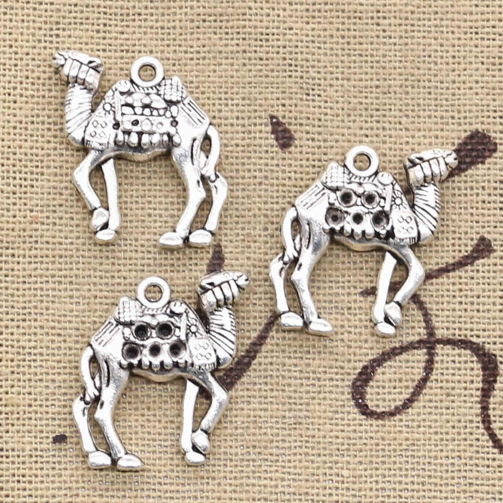 4pcs Charms desert camel 21x22mm Antique Making pendant fit,Vintage Tibetan Silver,DIY Handmade Jewelry