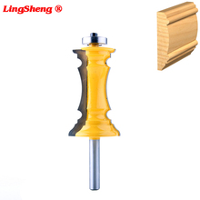8mm Shank Mitered Door Molding & Chair Rail Router Bit Line knife Tenon Cutter for Woodworking Tools