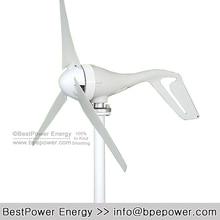 3 Blades 100w 200w 300w 400W 12v  24V Low Start-up Wind Turbine Generator for Home Wind Generator Kits