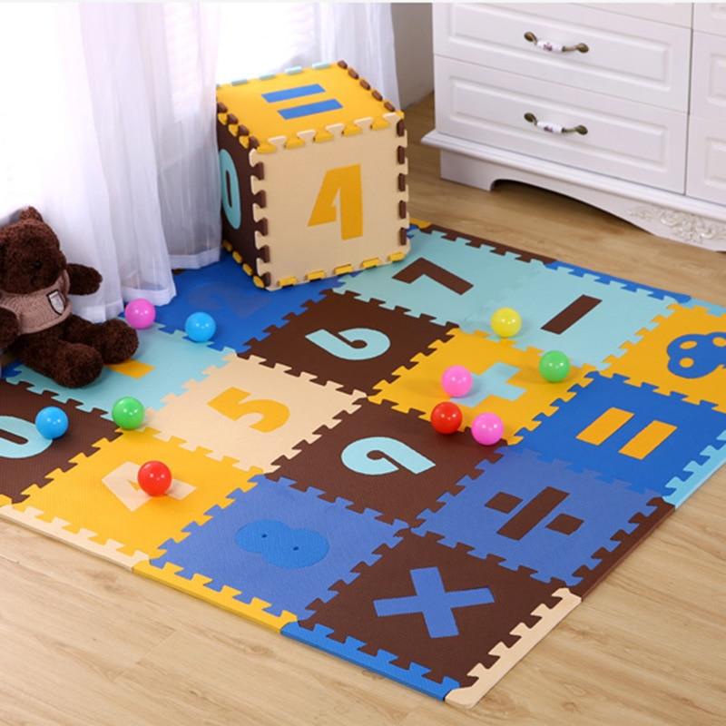 Baby Playmat Non Toxic Pe Foam Play Ground For Children Gym Kids Pad Crawling Carpet Puzzle Playing Mat 30x30x1cm 16pcs Aliexpress Imall
