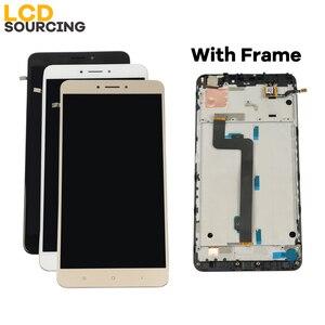 """Image 5 - A CRISTALLI LIQUIDI Per Xiaomi Mi Max 2 IPS da 6.44 """"pollici Display LCD Touch Screen Digitizer Assembly con Telaio per Mi max2 di Ricambio"""