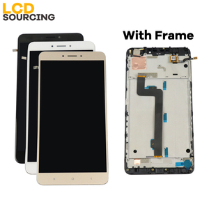 """Image 5 - LCD For Xiaomi Mi Max 2 IPS 6.44""""inch LCD Display Touch Screen Digitizer Assembly with Frame for Mi Max2 Replacement"""