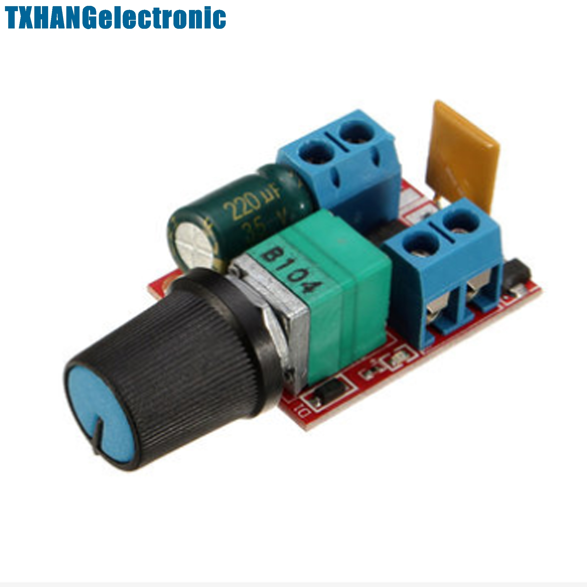 Mini Dc 5a Motor Pwm Speed Speed Controller 3v 35v