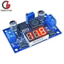 LM2596 DC-DC модуль ldo понижающего преобразователя светодиодный цифровой вольтметр Регулируемый трансформаторный источник энергии Напряжение регулятор метр 12 V-5 V