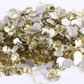 Jonquil cor 1440 pcs Não Hotfix Strass SS10 2.7-2.9mm de cristal Prego flatback Art Pedrinhas