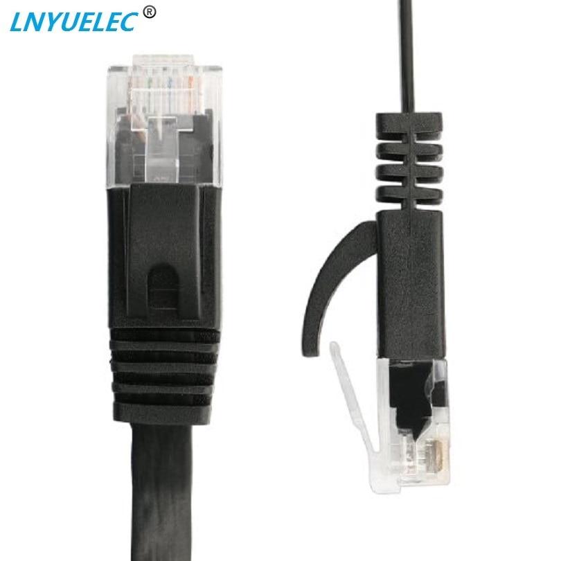 50 PCS/lot 30FT 10 M 50ft 15 m CAT6 CAT 6 plat câble réseau Ethernet UTP câble RJ45 Patch LAN on AliExpress - 11.11_Double 11_Singles' Day 1