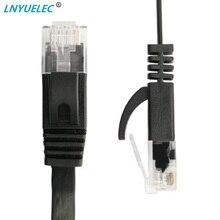 100PCS/lot  30FT 10M CAT6 CAT 6 Flat UTP Ethernet Network Cable RJ45 Patch LAN cable цена