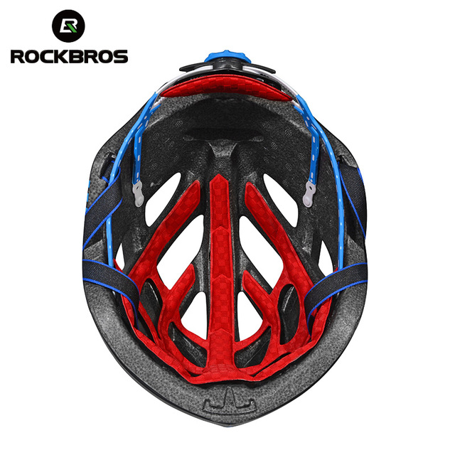 ROCKBROS Bicycle Helmet Road Bike Cycling Ultrafast Ultralight Integrally-molded In-mold Bicycle Helmet Casco Ciclismo 5 colors