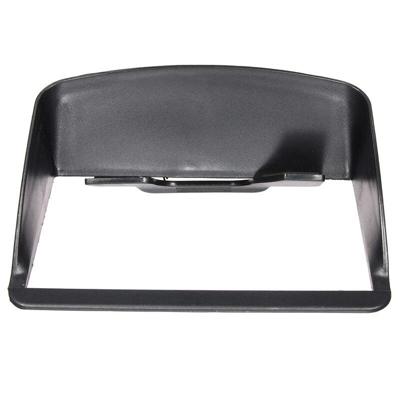 Universal 7 inch Portable Anti Glare Screen Sun Shield Visor Hood For 7 inch Car GPS Navigation GPS Accessories майка борцовка print bar glare of sun