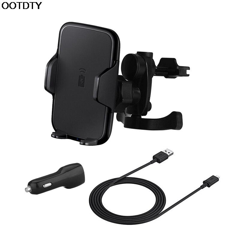 Fast Wireless Car Charger Charging <font><b>Holder</b></font> <font><b>Air</b></font> <font><b>Vent</b></font> Mount For Smart <font><b>Phone</b></font> #L060# new hot