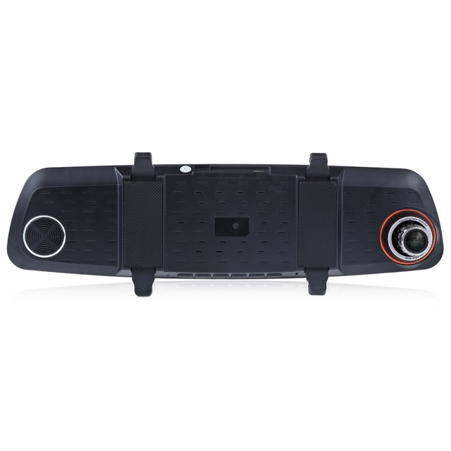 RH – 655 1080P Car DVR Rear-view Mirror Full HD 5 Inch Dual Lens Vehicle Traveling Data Recorder G-sensor Night Vision