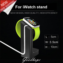 Plastic Smart Wrist Watch Display Rack Charging Stand Holder for Apple Watch Black White Green Red Color for Mens Smartwatch
