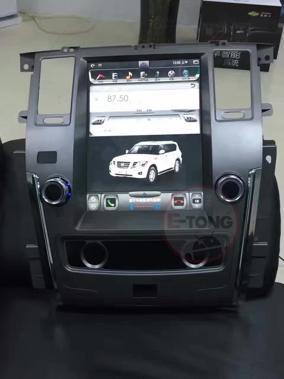 HD1024*600 Android 6.0 <font><b>Big</b></font> <font><b>Screen</b></font> Car DVD For Nissan Petrol 2015 With GPS Navigation Radio Stereo Wifi free Map