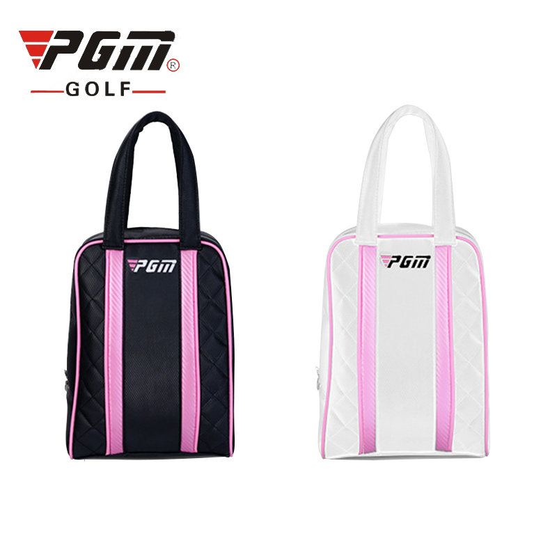 Hot!PGM Waterproof PU Golf Shoes Bag For Men and Women High Capacity Durable Golf Shoes Bag