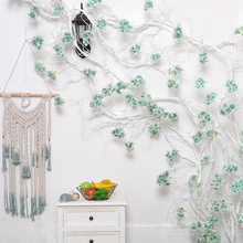 garland flowers wedding decoration artificial hydrangea vine party plastic flowers wall decor rattan silk flower wisteria wreath garland flowers wedding decoration artificial hydrangea vine party plastic flowers wall decor rattan silk flower wisteria wreath