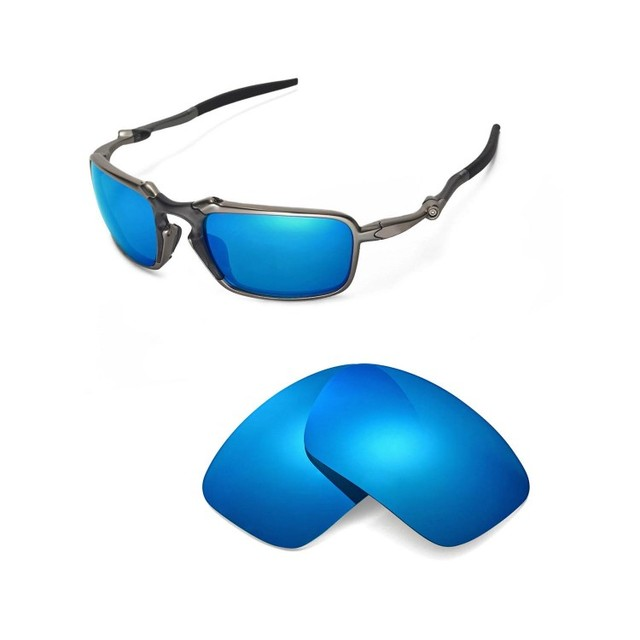 12a89276578 Walleva Polarized Replacement Lenses for Oakley Badman Sunglasses 2 colors  available
