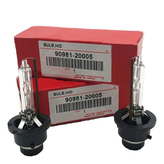 2 pièces Ampoule Au Xénon 90981-20005 90981-20008 90981-20013 90981-20024 90981-20029 D2S D2R D4S D4R 12V 35W 4300K 6000K Pour Toyota Lexus