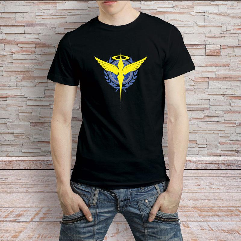 Небожитель Gundam логотип аниме Япония ТВ серии футболка ...