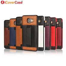 Case for Samsung Galaxy A3 2016 Back Leather Cover for Samsung A3 2016 Duos A310F A310M Coque Fundas Capa Carcasas Hoesje Stand