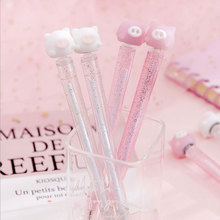 Creative Cartoon pig Rotate neutral pen children's gift kawaii gel pen office School stationery supplies 0.38mm deli stationery needle color neutral gel pen 12 color cartoon pen gel school supplies fresh creative suite 0 38 papelaria
