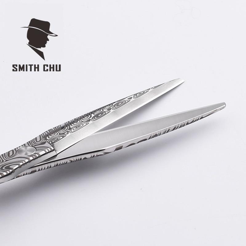 Smith Chu 6 pulgadas Damacus tijeras de peluquería 440C acero - Cuidado del cabello y estilo - foto 2