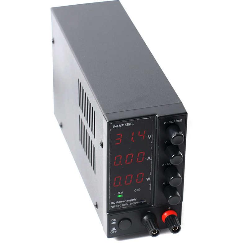 NPS3010W 306W 605W 1203W Mini anahtarlama regüle ayarlanabilir DC güç güç kaynağı ekran 30V 60V 120V 6A 10A 0.1V 0.01A 0.01W